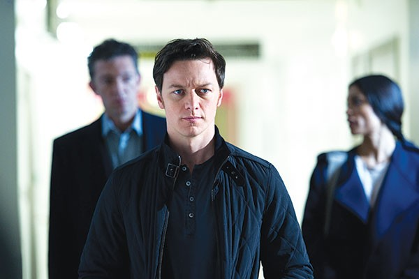 Art on the brain: James McAvoy