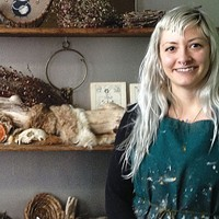 Artist Adrienne Rozzi's first gallery show finds inspiration in magic, witchcraft