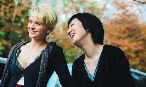 Arts partners: Juliette Binoche and Fang Song