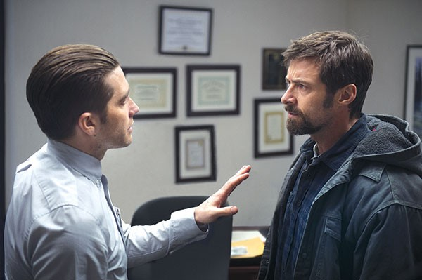 At odds: Jake Gyllenhaal and Hugh Jackman