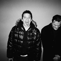 In their atmosphere: Hip-hop duo plays Mr. Small's tonight