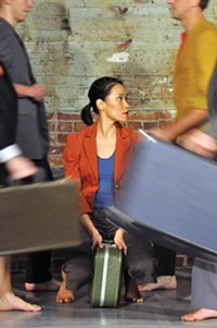 Attack Theatre dancers, including Liz Chang, perform Traveling. - PHOTO COURTESY OF BRIAN COHEN