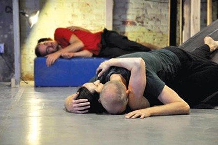"""Attack Theatre performs """"This Is What."""" Photo courtesy of Brian Cohen."""
