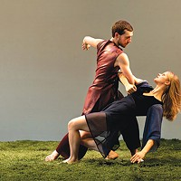 Brent Luebbert and Kaitlin Dann in Attack Theatre's <i>Soap Opera</i>