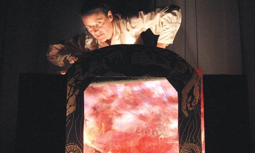 """Babel on: Clare Dolan's """"Line and Colour"""" puppet show dramatizes stories by Isaac Babel."""