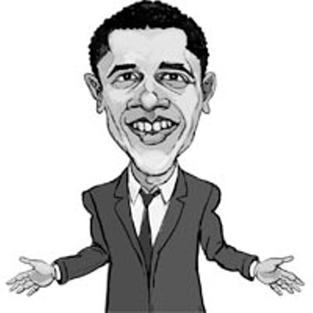 Barack Obama - ILLUSTRATION: FRANK HARRIS