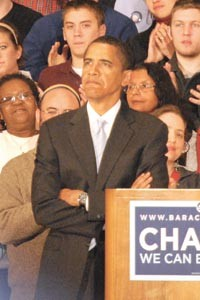 Barack Obama's Pennsylvania loss has him looking seriously at the country's remaining Primaries.