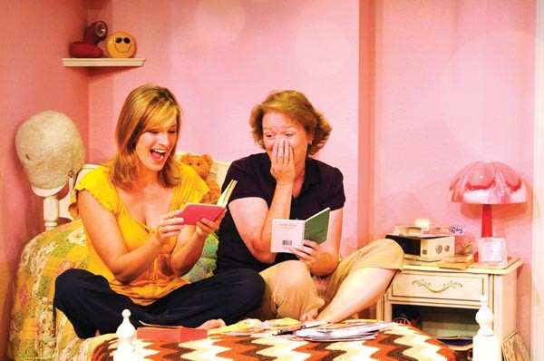 Barbara Gehring and Linda Klein in Girls Only — The Secret Comedy of Women