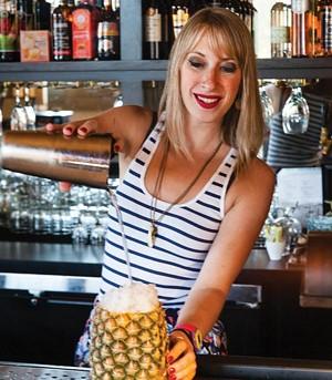 Bartender Sarah Clarke, cocktail, tender bar and kitchen, best of