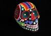 Beaded Huichol skull.
