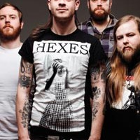 Canadian metalcore band Cancer Bats open for The Chariot at Altar Bar
