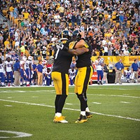 Ben Roethlisberger (left) should be no stranger to touchdown celebrations this season.