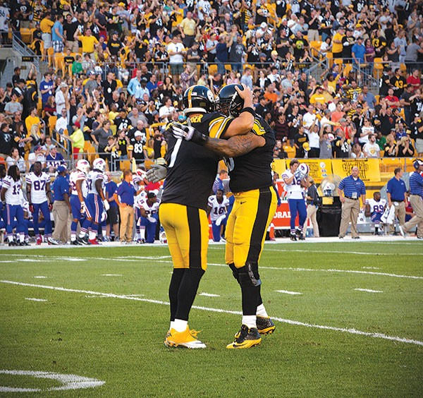Ben Roethlisberger, touchdown celebrations