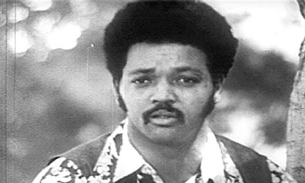 """Black is beautiful: Jesse Jackson (ca. 1969) in Billy Jackson's """"We Are Universal."""""""