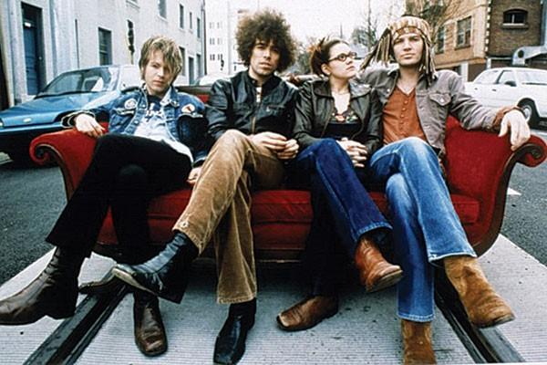 Bohemian upholstery: The Dandy Warhols