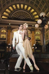 Borne back ceaselessly into the past: Christopher Rendall-Jackson and Julia Erickson star in Pittsburgh Ballet's The Great Gatsby. - PHOTO COURTESY OF RIC EVANS