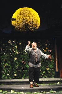 Bottom's up: John Ahlin in Pittsburgh Public Theatre's A Midsummer Night's Dream