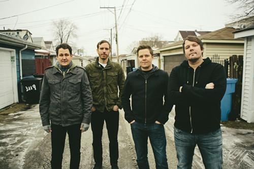Braid (from left: Todd Bell, Bob Nanna, Damon Atkinson, Chris Broach)