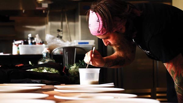 Brandon Baltzley plans thematic meals through pop-up restaurant Crux
