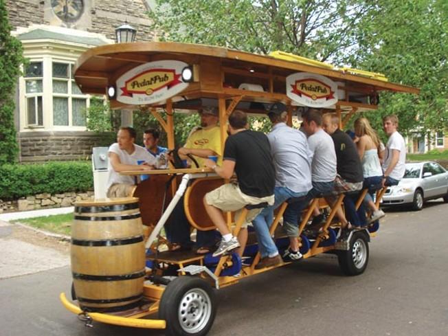 Bring The Pedalpub To Pittsburgh News Pittsburgh