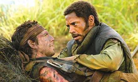 Brothers in arms: Ben Stiller and Robert Downey Jr.