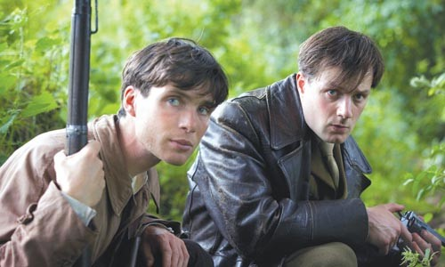 Brothers in arms: Cillian Murphy and Pdraic Delaney