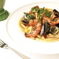 Bucitini de Mare with local Fede pasta