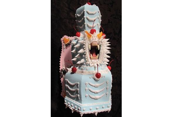 "Cake or death: Scott Hove's ""Scream Cake"""