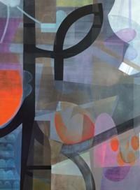 California Crude continues through July 3 at BoxHeart Gallery. - ART BY KUZANA OGG