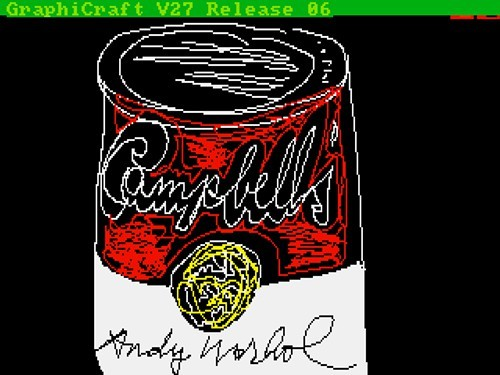 Campbells, by Andy Warhol