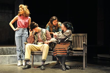 Carnegie Mellon Drama's Mad Forest - PHOTO COURTESY OF LOUIS STEIN