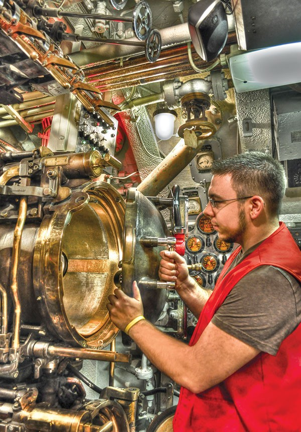 Carnegie Science Center, Cold War-era submarine, the USS Requin