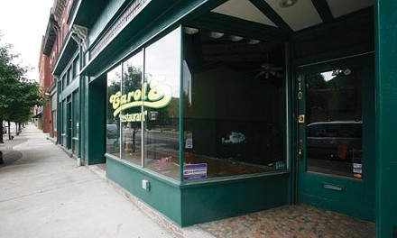 Carol's Restaurant on South Main closed earlier this year. - HEATHER MULL