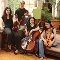 Carpe Diem Quartet, July 3 - PHOTO COURTESY OF CARPE DIEM QUARTET