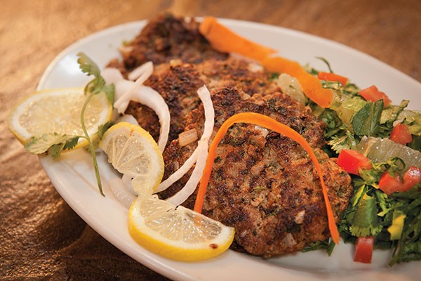 Chapli kebab lamb