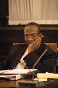 Chief of High School Reform Derrick Lopez - HEATHER MULL