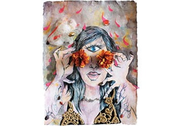 Chitra Ganesh offers a transgressive and powerful view of femininity.