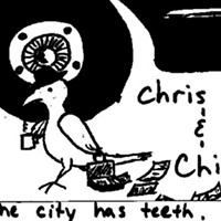 </b>Chris Ryan & Chicken! releases lo-fi CD <i>The City Has Teeth</i>