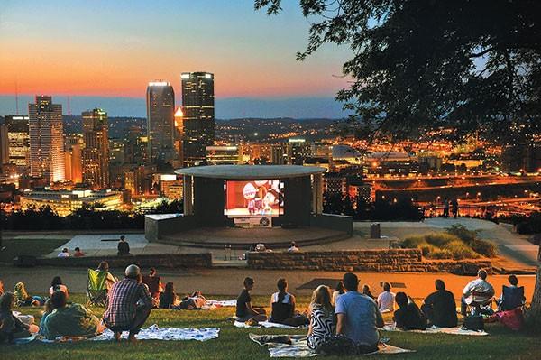 Cinema in the Park.