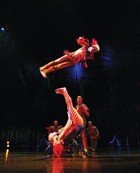 Cirque du Soleil at the Peterson Event Center