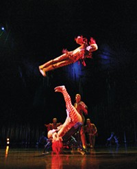 Cirque du Soleil at the Peterson Event Center