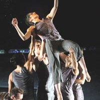 An American dance company and a Chinese troupe collaborate to explore cultural differences and similarities.