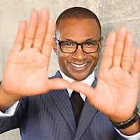 Comic Tommy Davidson is back in town
