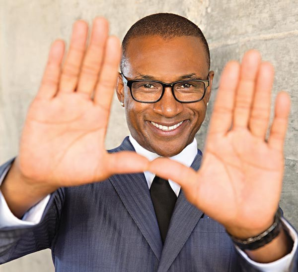 Comedian and actor Tommy Davidson