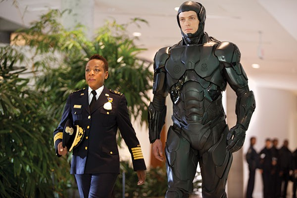 Cop and Robocop: Marianne Jean-Baptiste and Joel Kinnaman