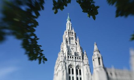 Cornerstones: Architect Ralph Adam Cram designed two landmark Pittsburgh churches: Calvary Episcopal, in Shadyside (top) and East Liberty Presbyterian. - HEATHER MULL