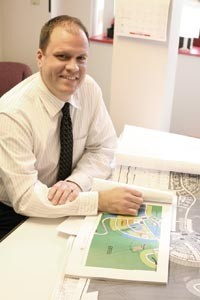 Cranberry planning officer John Trant is helping map out a new approach to development. - HEATHER MULL