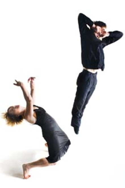 Dance Alloy's Stephanie Dumaine and Christopher Bandy - COURTESY OF RENEE ROSENSTEEL