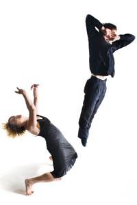 Dance Alloy's Stephanie Dumaine and Christopher Bandy - COURTESY OF RENEE ROSENSTEEL