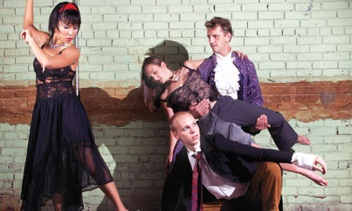 Dance macabre: Attack gets Gore-y. Photo courtesy of Matthew Kleinrock.